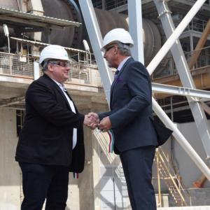 7 milliárd forintból modernizálták a Váci Cementgyárat