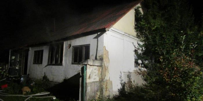 Ház égett Kosdon