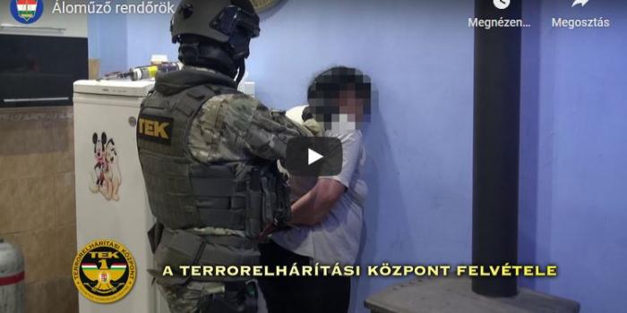 42 rendőr, 14 autó, 7 helyszínen csapott le Pest megyében /videó/